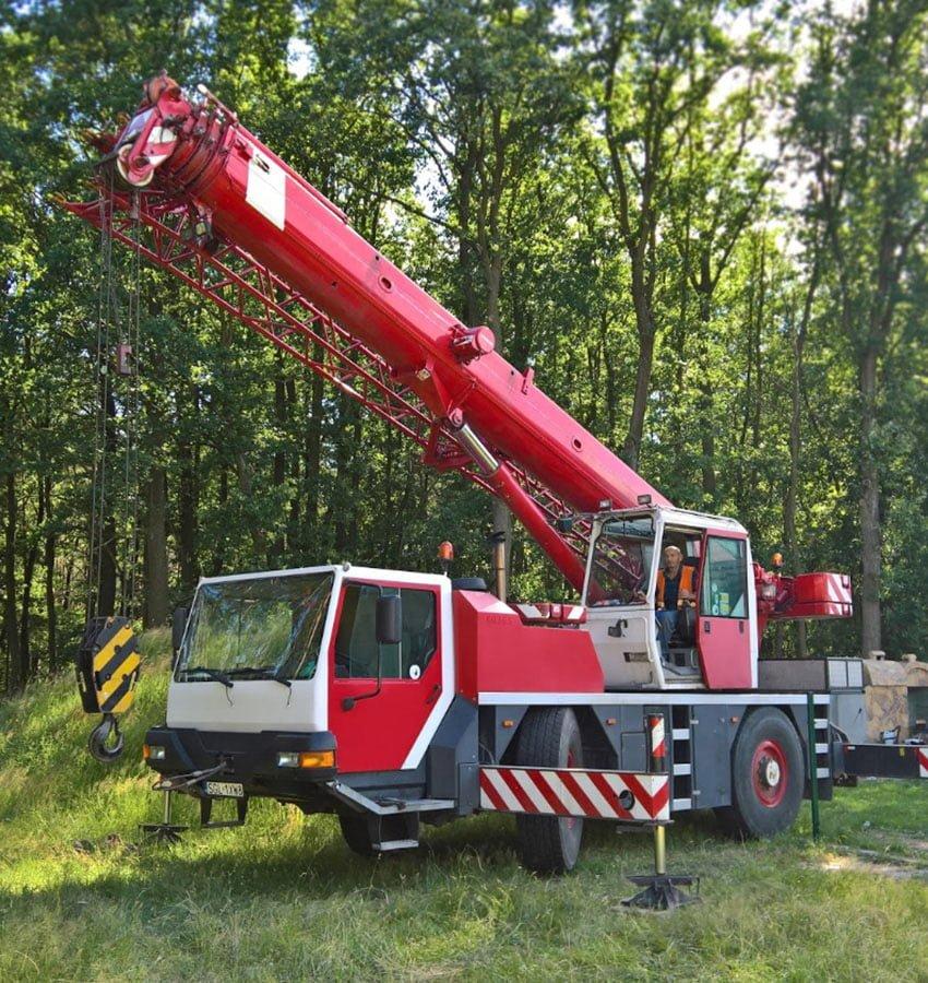Dźwigi 30 - 35 ton
